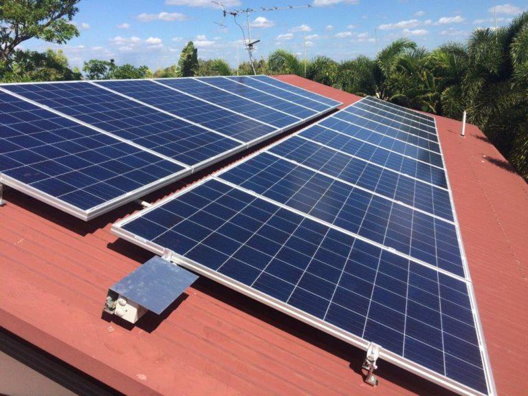 Solar panel Darwin