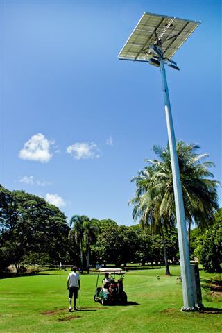 Garden Park Golf Darwin solar installation